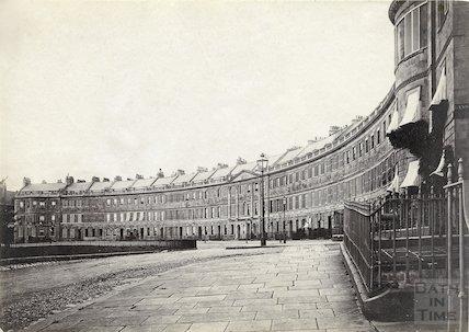 Lansdown Crescent, Bath c.1890