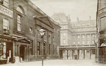 The Pump Room, Abbey Church Yard and Grand Pump Room Hotel, Bath 1876