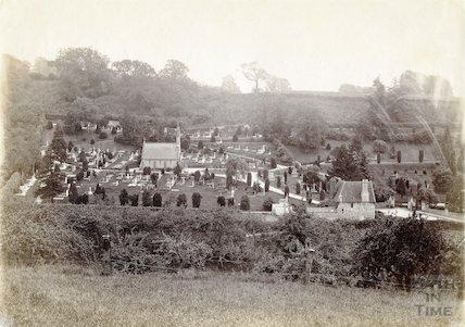 St. Mary's Churchyard, Smallcombe Cemetery, Bath c.1890