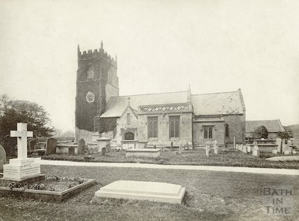 St Nicholas Church, Bathampton, c.1880