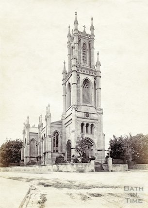 St. Stephen's Church, Lansdown, Bath c.1890