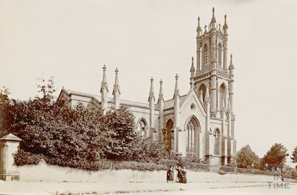 St Stephen's Church, Lansdown, Bath c.1880
