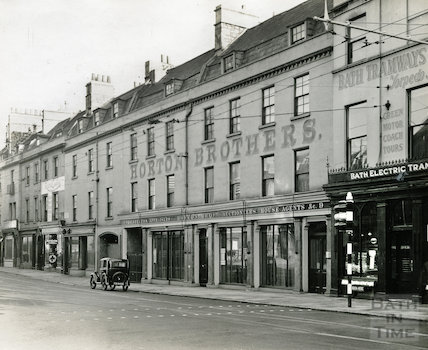 Horton Brothers, Northgate Street, Bath, c.1920s