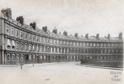 The Circus, Bath c.1890