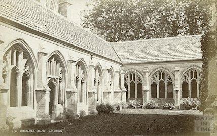 Winchester College, c.1870