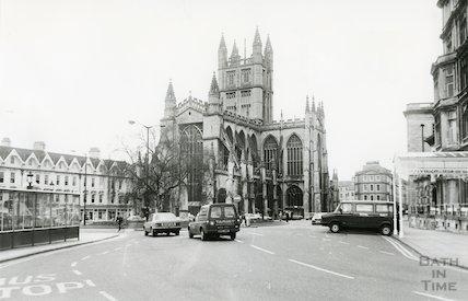 Bath Abbey Church 1987