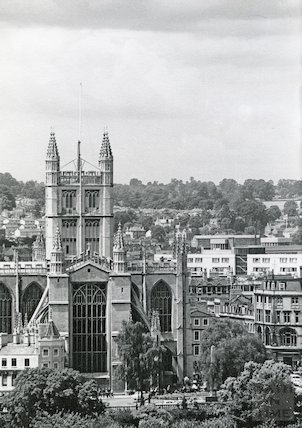 Bath Abbey, 1964