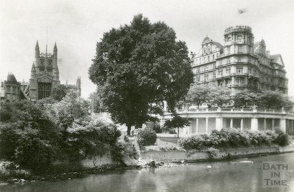 Bath Abbey and Empire Hotel, Bath, c.1920s