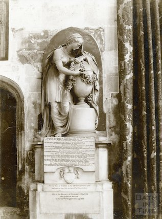 Bath Abbey Church Katencamp memorial, c.1894