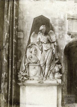 Champion memorial, Bath Abbey, 1894