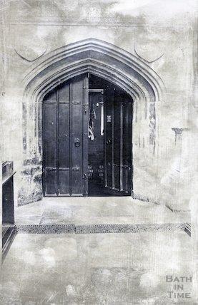 Bath Abbey door into vestry