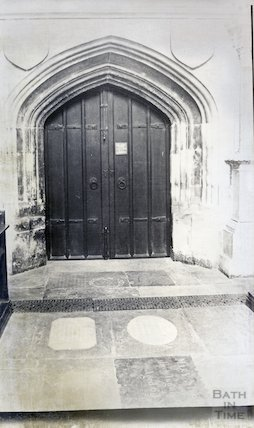 Bath Abbey door into vestry
