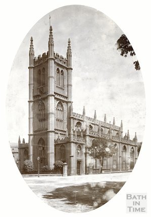 St. Mary's Church, Bathwick general view, 1900