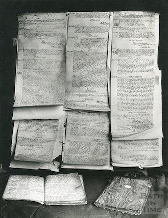 Church warden's accounts of St. Michael's Bath 1349 onwards (taken in 1953)