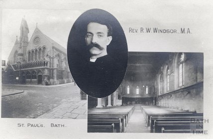 St. Paul's Church (Holy Trinity) and Rev. R. W. Windsor M. A