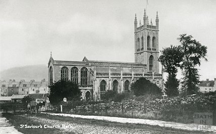 St. Saviour's Church view from north side, c.1912
