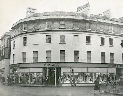 The Plummer Roddis Building, New Bond Street, Bath, c.1969