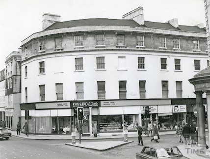 The Plummer Roddis Building, New Bond Street, Bath, 1972