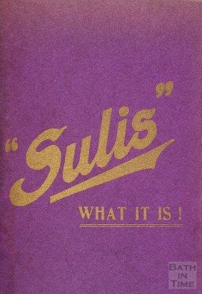 Sulis Water pamphlet, c.1910