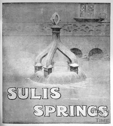 The Sulis Springs (Kings Bath) c.1910