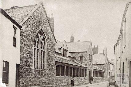 Penrose Almshouses, Litchdon Street, Barnstable c.1880