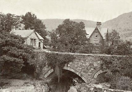 Pont Y Pair Bridge, Bettys y Coed, Wales, c.1880s