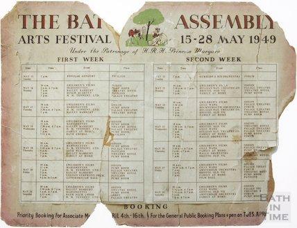Bath Festival Poster 1949