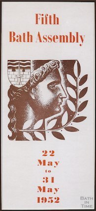 Bath Festival Poster 1952