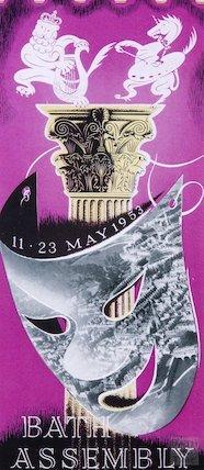 Bath Festival Poster 1953