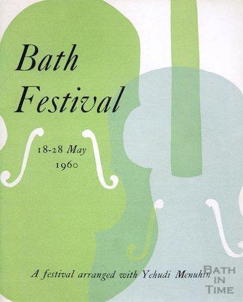 Bath Festival Poster 1960