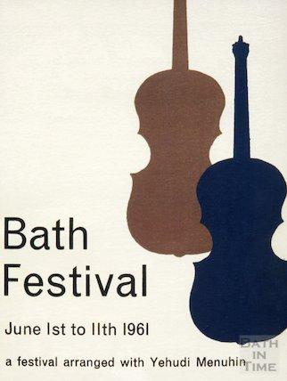 Bath Festival Poster 1961