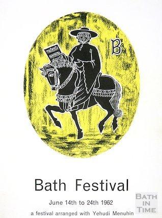 Bath Festival Poster 1962