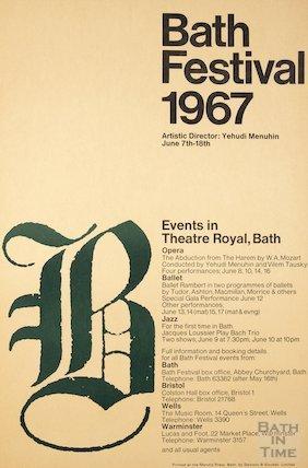 Bath Festival Poster 1967