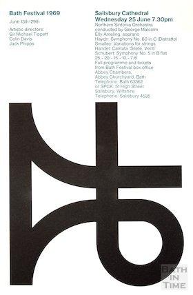 Bath Festival Poster 1969