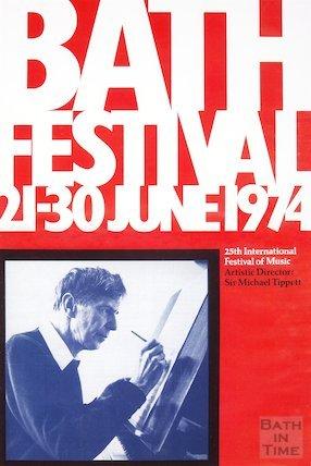 Bath Festival Poster 1974