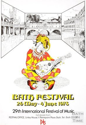 Bath Festival Poster 1978