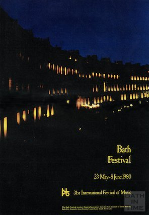 Bath Festival Poster 1980