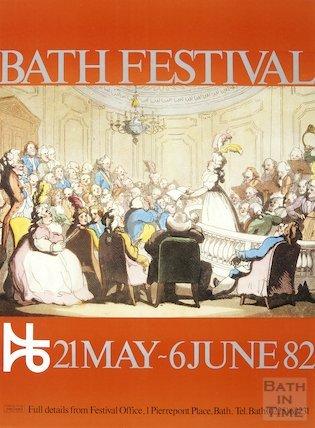 Bath Festival Poster 1982