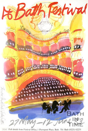 Bath Festival Poster 1983