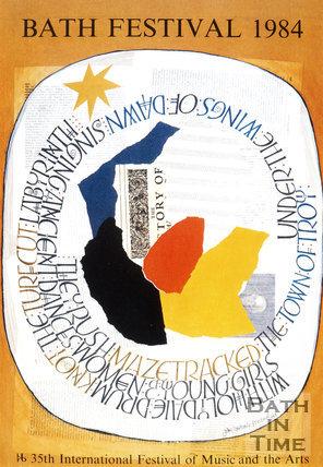 Bath Festival Poster 1984