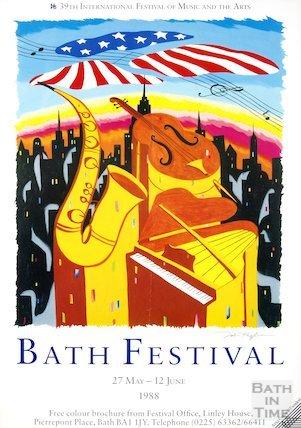 Bath Festival Poster 1988