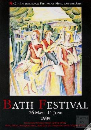 Bath Festival Poster 1989