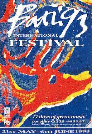 Bath Festival Poster 1993