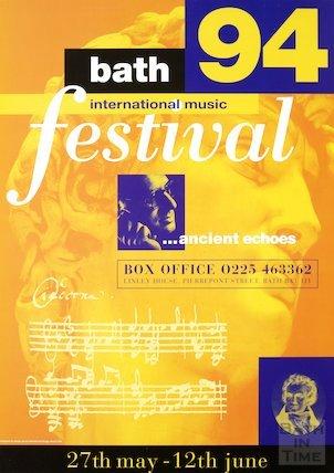Bath Festival Poster 1994
