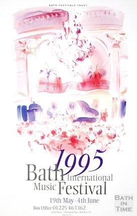 Bath Festival Poster 1995