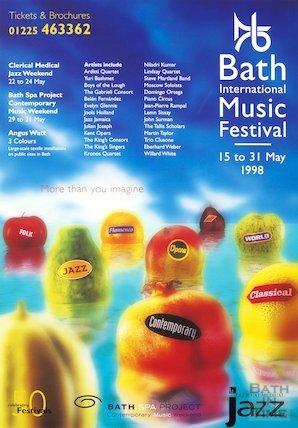 Bath Festival Poster 1998