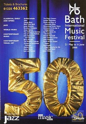 Bath Festival Poster 1999