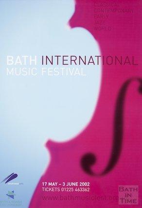 Bath Festival Poster 2002