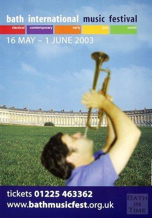 Bath Festival Poster 2003