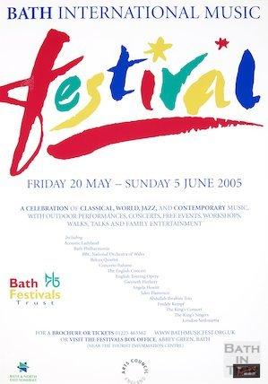 Bath Festival Poster 2005